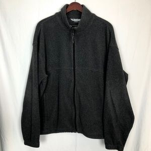 Columbia Mens Size XXL Fleece Zip Up Jacket